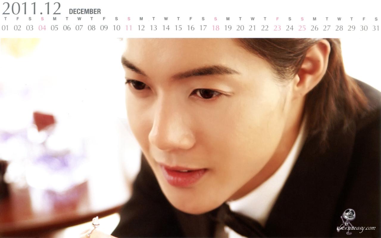 Kim hyun joong the first love story 2011 calendar